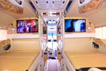 Amazing Limousine 21 phòng nằm chuyên tuyến Sài Gòn - Nha Trang