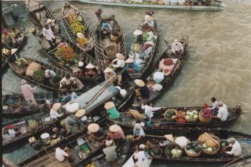 Thăm chợ nổi Ngã Bảy Phụng Hiệp - Điểm đến đậm đà bản sắc văn hóa miền Tây