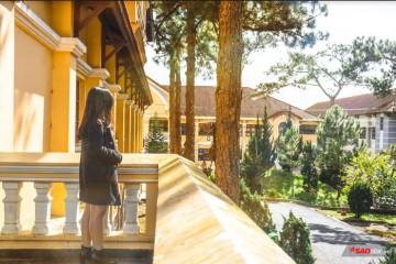 Trường Đại Học Yersin -  ngôi trường được du khách yêu thích bậc nhất.