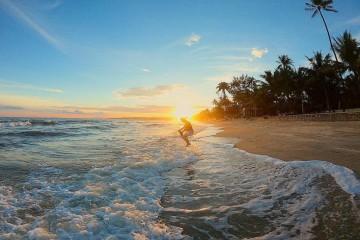 """Bãi biển Hòn Rơm – """"đảo ngọc"""" được yêu thích của Bình Thuận"""
