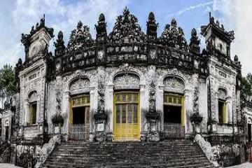 Khám phá khu lăng tẩm đẹp nhất triều Nguyễn - Lăng Khải Định
