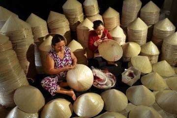Làng nón Quế Minh Quảng Nam - 400 năm với nghề truyền thống