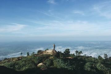 Săn mây trên đỉnh núi Chứa Chan cực chill cuối tuần
