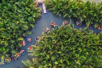 Rừng dừa Bảy Mẫu - Trải nghiệm khác biệt trong hành trình khám phá Quảng Nam