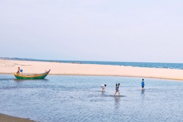 Tận hưởng những giây phút nhẹ nhàng, bình yên tại biển Suối Ồ - Vũng Tàu