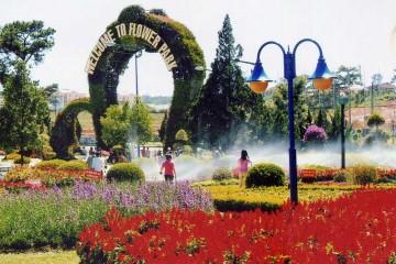 Vườn Hoa Thành Phố Đà Lạt – Đắm mình trong không gian cổ tích